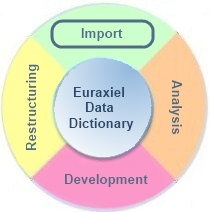 Importing Pacbase™ data dictionary into Euraxiel dictionary